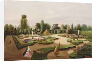 The Alhambra Garden, Elvaston Castle by Edward Adveno Brooke