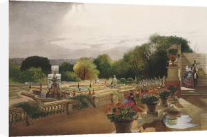 The Parterre, Harewood House, nr. Leeds by Edward Adveno Brooke