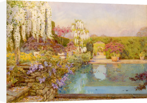 The Swimming Pool, Dyffryn by Edith Helena Adie