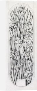 Botanical Designs for Boxes - Lid by Alice Bickham