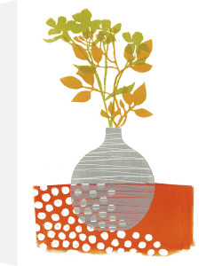 Autumn Vase by Fiona Howard