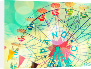Ferris Wheel Barcelona by Robert Cadloff