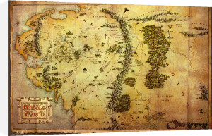 The Hobbit - Map by Anonymous