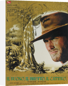The Good The Bad and The Ugly (Italian) - Eastwood by Cinema Greats