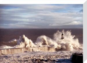 Seaham Lighthouse by John Kirkwood
