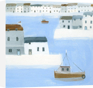 Harbour Walls by Hannah Cole