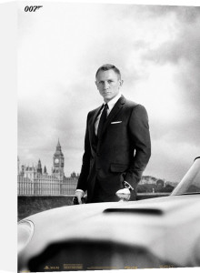 Bond & DB5 - Skyfall by Anonymous