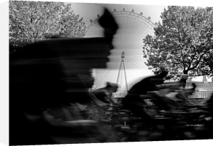 Speed cycle, London Eye by Niki Gorick
