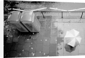 Rainy day, London Town by Niki Gorick
