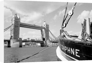 Tower Bridge mooring by Niki Gorick