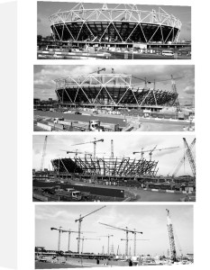 Building the Olympic Stadium by Niki Gorick