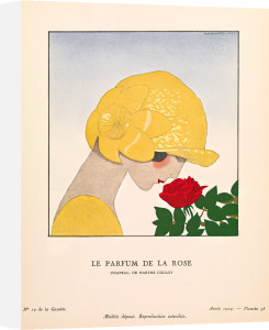 Le parfum de la rose by Gazette du Bon Ton