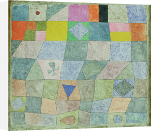 Friendly Game 1933 by Paul Klee