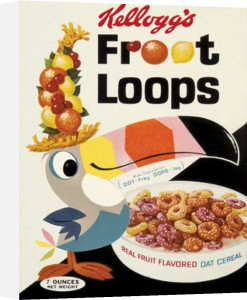 Vintage Kelloggs - Fruit Loops by Anonymous