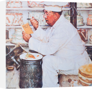 Weighty Matters by Norman Rockwell