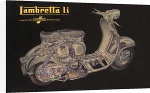 Lambretta Li - Cutaway by Anonymous
