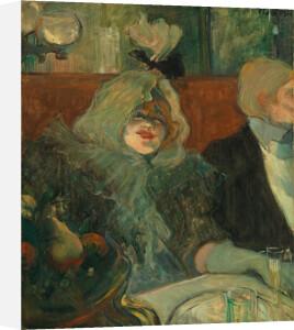 Tete-a-tete supper by Henri de Toulouse-Lautrec