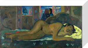 Nevermore by Paul Gauguin