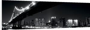 Manhattan Bridge at Night by Joshua Haviv