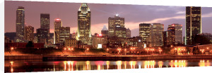 Montreal Skyline at Dusk by Vlad Gheia
