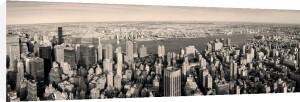 Manhattan Panorama at Sunset by Songquan Deng