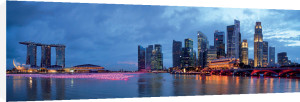 Singapore Skyline by Michele Falzone