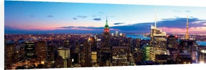 New York Skyline at Dusk by Dibrova
