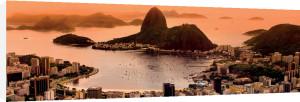 Sugar Loaf and Botafogo Beach at Sunset, Rio de Janeiro by Matej Kastelic