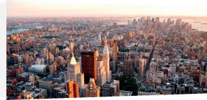 Manhattan Sunset by Songquan Deng