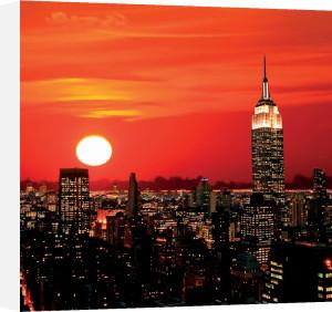 Midtown New York Skyline by Gary718