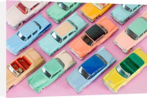 Colourful Cars by Kim Sayer