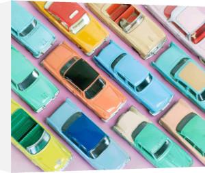 Colourful Cars II by Kim Sayer