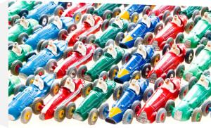 Racing Cars by Kim Sayer