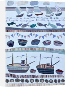 Seashore & Boats by Jane Robbins