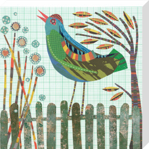 Fence Bird by Jane Robbins