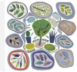 Carpet Garden by Jane Robbins