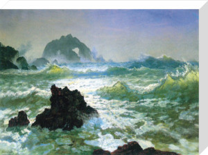 Seal Rock by Albert Bierstadt