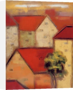 Rooftops II by Eric Balint