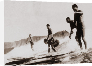 Tom & Crew, Diamond Head by Tom Blake