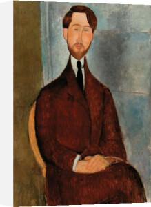 Portrait of Leopold Zborowski by Amedeo Modigliani
