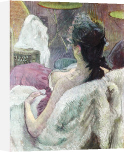 Resting Model by Henri de Toulouse-Lautrec