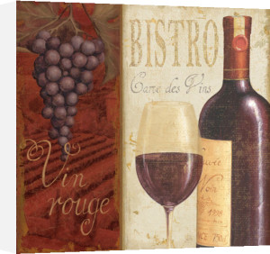 Wine List I by Daphne Brissonnet
