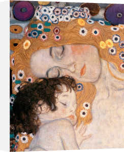 The Three Ages of Woman (detail) by Gustav Klimt