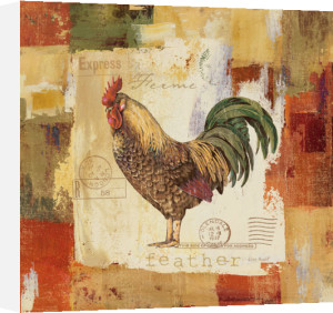Colorful Rooster II by Lisa Audit
