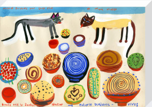 Cats and Bowls by Christopher Corr