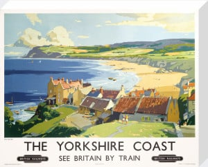 The Yorkshire Coast by Frank Sherwin