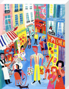 Paris Street by Christopher Corr