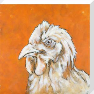 Chicken on Orange by Nicola King
