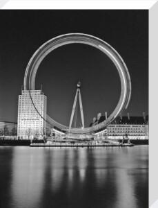 London Eye at Night by Assaf Frank