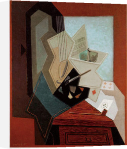 The Painter's Window by Juan Gris